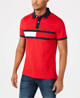 Tommy Hilfiger Men Big & Tall Logo Graphic Polo