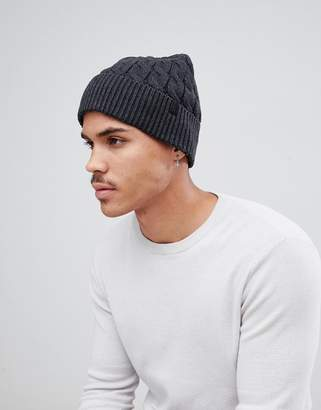 Selected Beanie In Gray