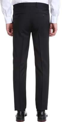 Mauro Grifoni Black Cotton Suit