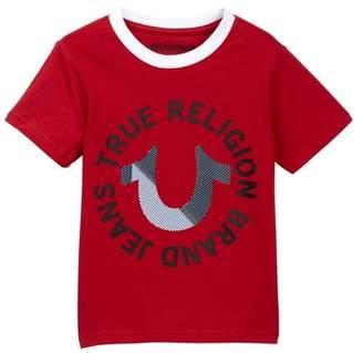 True Religion Textured Horseshoe Tee (Little Kid)