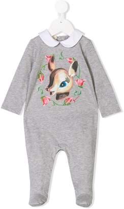Gucci Kids bambi print romper