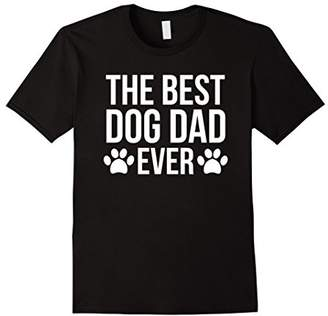 The Best Dog Dad Ever T-Shirt For Dog Lovers