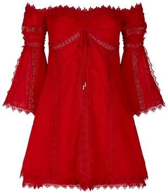 Charo Ruiz Ibiza Campana Embroidered Dress