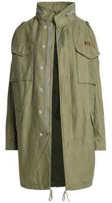 R 13 Appliquéd Cotton-Canvas Jacket