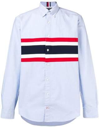 Tommy Hilfiger stripe-print button-down shirt