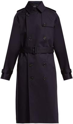 A.P.C. Greta double-breasted cotton trench coat