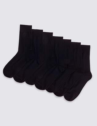 Marks and Spencer 7 Pack Cotton Blend Socks