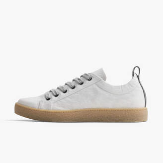 James Perse CARBON MATTE NYLON CONTRAST STITCH SNEAKER - MENS