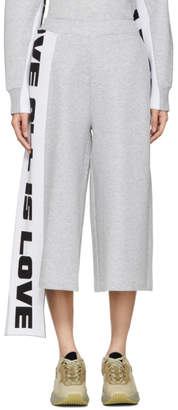 Stella McCartney Grey All Is Love Wide Leg Lounge Pants