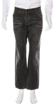Dolce & Gabbana Five-Pocket Straight-Leg Jeans