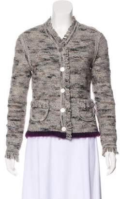 Chanel Wool-Blend Bouclé Jacket