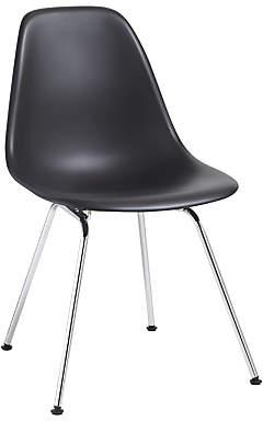 Vitra Eames DSX Side Chair, Chrome Leg