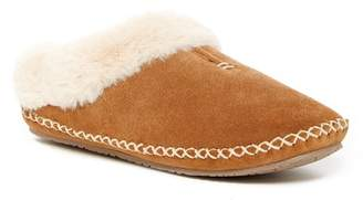 Minnetonka Carolina Clog Faux Fur Lined Slipper
