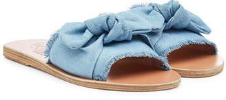 Ancient Greek Sandals Taygete Denim Sandals