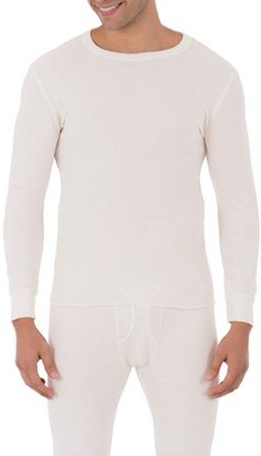 Fruit of the Loom Mens Classic Thermal Underwear Crew Top