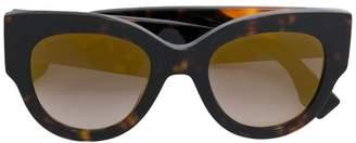 Cat Eye Fendi Eyewear oversized cat-eye sunglasses
