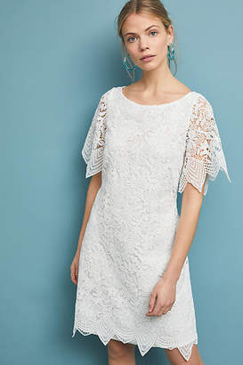 Anthropologie Charleston Lace Mini Dress
