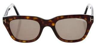 Tom Ford Snowdon Tortoiseshell Sunglasses