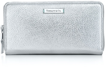 Tiffany & Co. Zip continental wallet