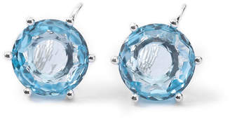 Ippolita Rock Candy Large Stone Lever Back Earrings in Blue Topaz