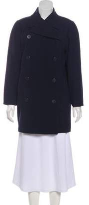 Courreges Structured Wool Coat w/ Tags