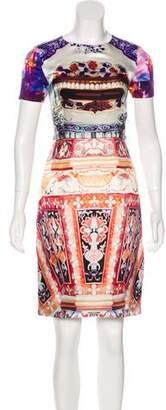Mary Katrantzou Silk Knee-Length Dress