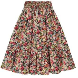Bonton Nina Floral Skirt/Bustier Dress