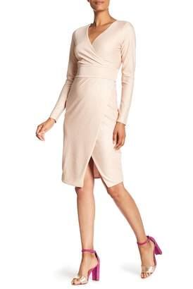 Rachel Roy Long Sleeve Knit Dress