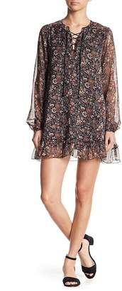 Raga Eloise Ruffled Mini Dress