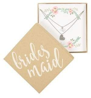 Cathy's Concepts Bridesmaid Double Chain Necklace