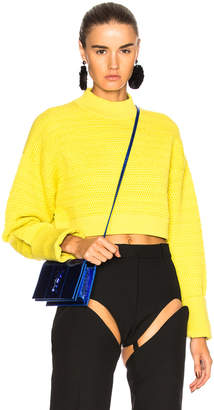 3.1 Phillip Lim Cropped Pullover Sweater