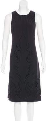 ALICE by Temperley Sleeveless Laser Cut Dress