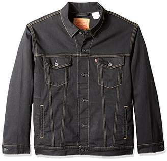 Levi's Men's Big and Tall Trucker Jacket