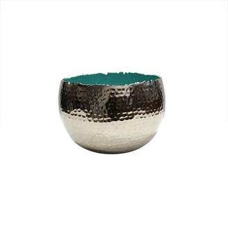 Mela Artisans Holi Large Turquoise Bowl