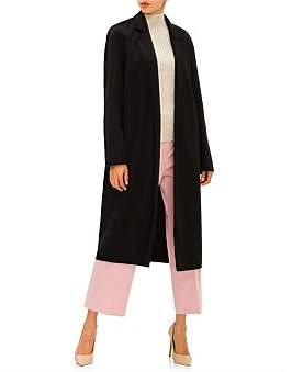 Mansur Gavriel Narrow Buttonless Coat