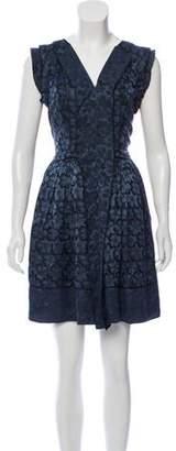 Marc Jacobs Floral A-Line Dress