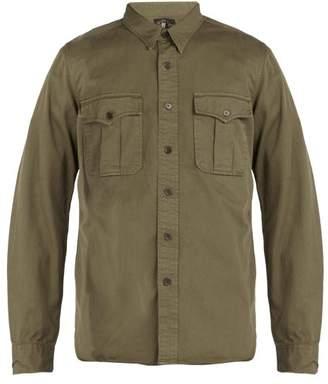 Rrl - Gi Military Shirt - Mens - Khaki