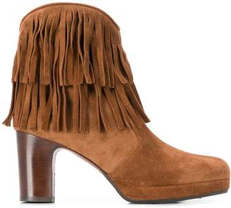 Chie Mihara fringed ankle boots