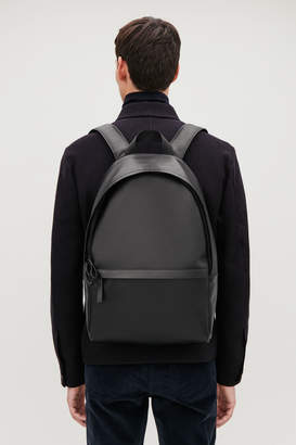 Cos LEATHER BACKPACK