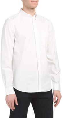 Lightweight Peached Oxford Shirt