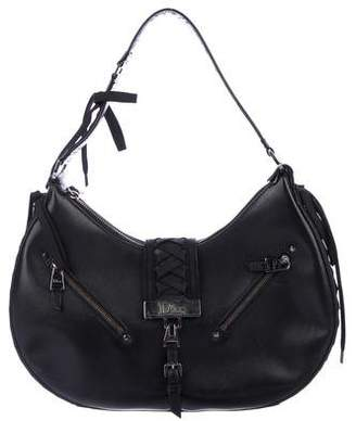 Christian Dior Admit It Leather Hobo