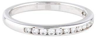 Tiffany & Co. Platinum Diamond Wedding Band
