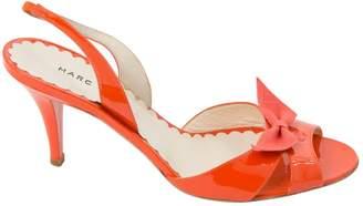 Marc Jacobs Orange Patent leather Heels