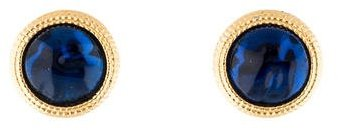 Nina Ricci Nina Ricci Gripoix Clip-On Earrings