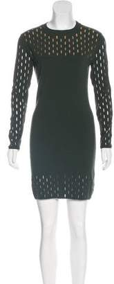 Thierry Mugler Knit Mini Dress