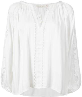 Ulla Johnson bohemian style eyelet blouse