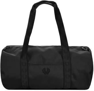 Fred Perry Tonal Track Barrel Bag Black