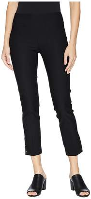 Elliott Lauren Elastic Waist Pull-On Pants with Grommet Trim Women's Casual Pants