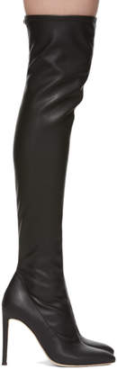 Giuseppe Zanotti Black Blaze Over-The-Knee Boots