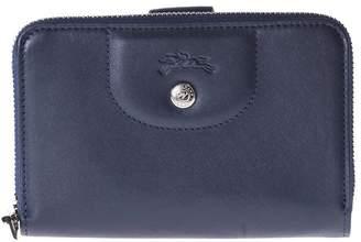 Longchamp Compact Zip Around Wallet